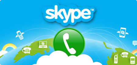 Get Skype by clicking here!